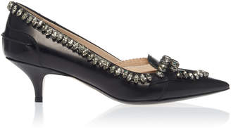 N°21 N 21 Jeweled Kitten Heel Pump