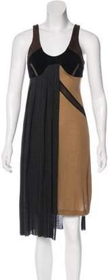 VPL Colorblock Knee-Length Dress