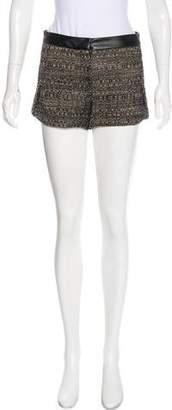Robert Rodriguez Textured Mini Shorts