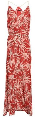 Vix Paula Hermanny Printed Voile Maxi Dress