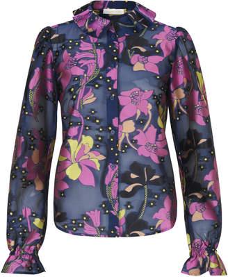 Stine Goya Autum Floral Long Sleeve Top