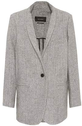 Isabel Marant Elis wool and alpaca coat