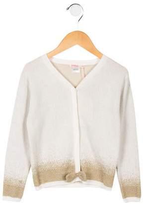Billieblush Girls  Gold-Accented Knit Cardigan w  Tags 210519f99