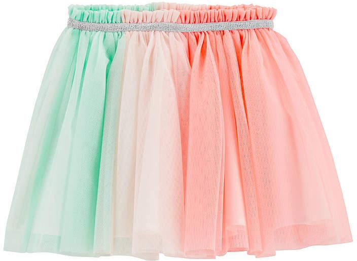 CARTERS Rainbow Tutu Skirt - Todder Girls