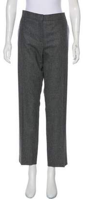 Salvatore Ferragamo Mid-Rise Straight-Leg Pants w/ Tags