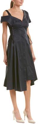 Jason Wu Asymmetrical A-Line Dress
