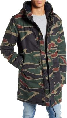G Star Strett Camo Canvas Parka