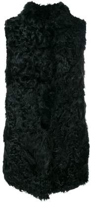 Numerootto mid-length fur gilet