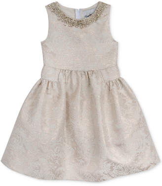 Rare Editions Embellished Neck Special Occassion Dress, Toddler & Little Girls (2T-6X) $74 thestylecure.com