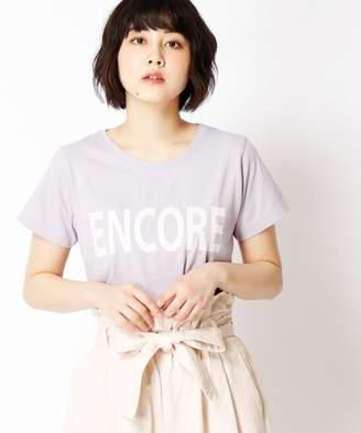 179/WG NICOLE CLUB (179/WG ニコル クラブ) - 179/WG NICOLE CLUB ロゴプリントTシャツ