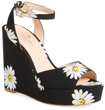 Kate Spadekate spade new york Dellie Printed Platform Wedge Sandal