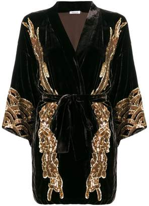 P.A.R.O.S.H. sequin embellished kimono