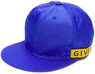Givenchy side logo cap