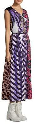Marc Jacobs Photographic Stripe Midi Dress