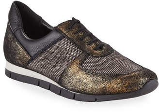 Sesto Meucci Candy Metallic Trainer Sneakers, Black