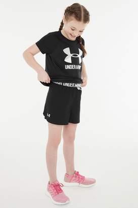 Under Armour Girls Play-Up Short - Black