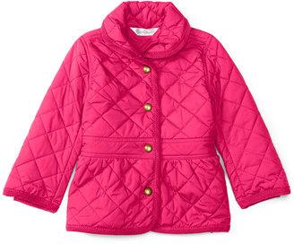 Ralph Lauren Baby Girls' Corduroy-Trim Barn Jacket $99.50 thestylecure.com