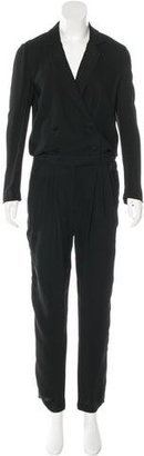 Boy. by Band of Outsiders Pleated Double-Breasted Jumpsuit w/ Tags $145 thestylecure.com