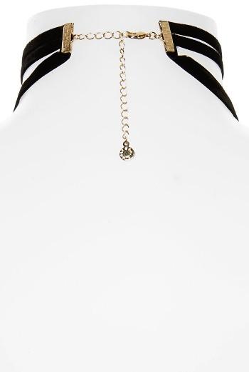 Women's Baublebar Velvet Lariat Choker Necklace 2
