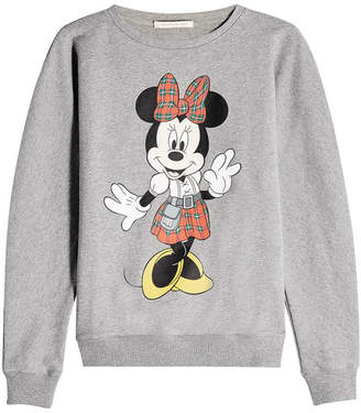 Christopher Kane Minnie Mouse Cotton Sweatshirt