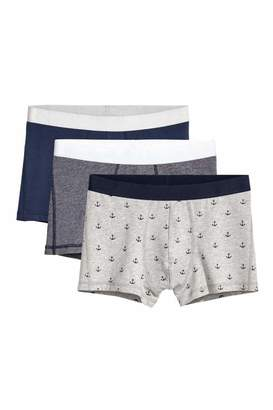 H&M 3-pack Boxer Shorts - Dark blue/multicolored - Men