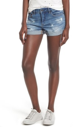 Women's Blanknyc Cuffed Denim Shorts $78 thestylecure.com