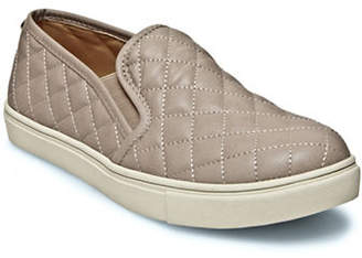 Steve Madden Quilted Leather Slip-On Sneakers