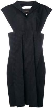 Junya Watanabe sleeveless pleated dress
