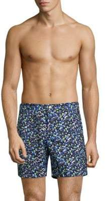 Trunks T. Christopher Newport Slim-Fit Printed