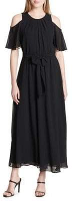 Calvin Klein Cold Shoulder Midi Dress