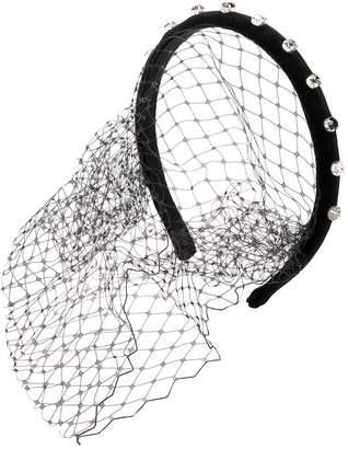 Red Valentino mesh embellished hair-piece - Black SfF2WdoD