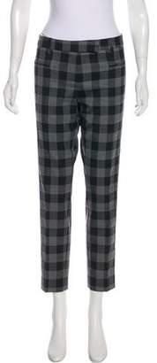 True Royal Mid-Rise Wool Pants