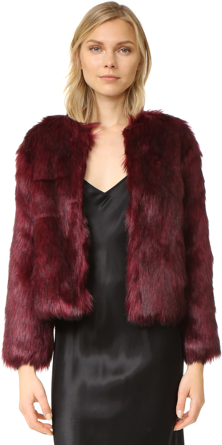Fur & Shearling Coats For Women - ShopStyle Australia