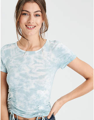 American Eagle AE Soft & Sexy Double Cinch Front T-Shirt