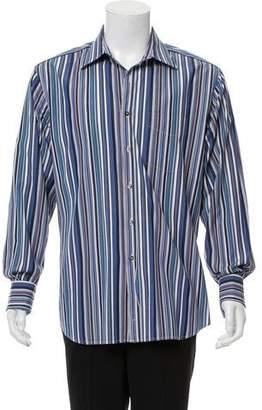 Paul Smith Striped Long Sleeve Top