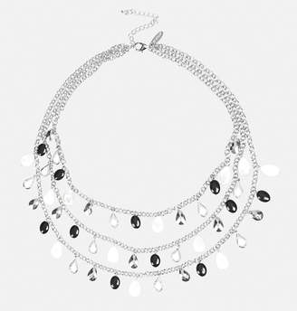 Avenue Multi Row Bead Chain Necklace
