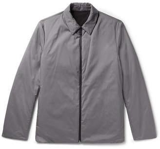 Theory Odin Reversible Puppytooth Shell Shirt Jacket
