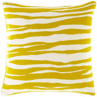 "Legacy Mona Zebra Pillow, 20""Sq."