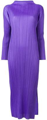 Pleats Please Issey Miyake plissé dress