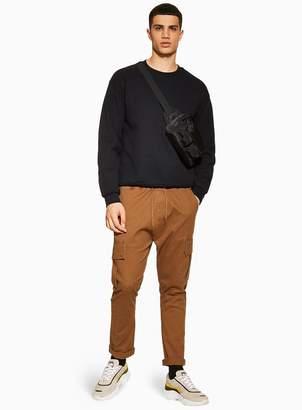 Topman ANTIOCH Rust Elasticated Cargo Pants*