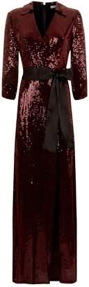 Alice + Olivia Bayley Sequinned Maxi Dress