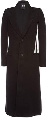 Y-3 Coat with Wool and Alpaca