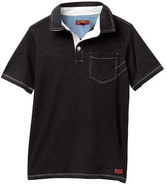 7 For All Mankind Knit Polo (Big Boys)
