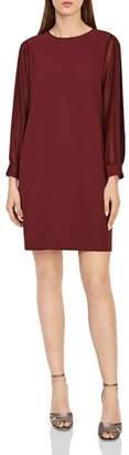 Reiss Amerie Pleated-Sleeve Dress