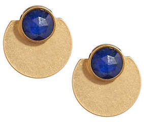 Kate Spade Sunshine Stones Disk Drop Earrings