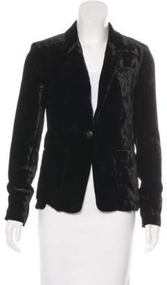 Rag & Bone Velvet Structured Blazer