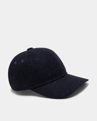 Ted Baker NOTTS Textured wool-blend baseball cap