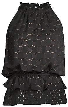Ramy Brook Women's Bobbi Silk Sleeveless Blouse