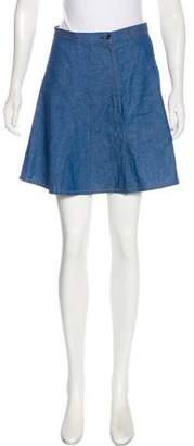 Rag & Bone Flared A-Line Mini Skirt