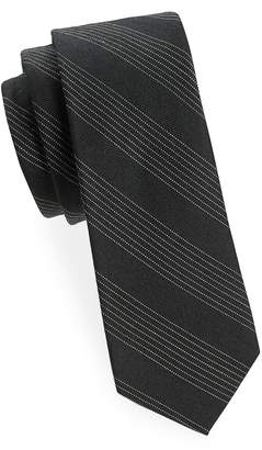 Tudor WRK MATERIALS Men's Stripe Wool Scarf